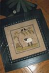 15-1506 Buzzing Round Ewe 65 x 65 Chessie & Me