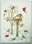 98-1603 Winter Feeder by Crossed Wing Collection