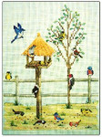 98-1604 Summer Feeder by Crossed Wing Collection