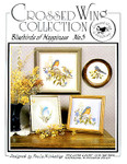 8171 Bluebirds Of Happiness by Crossed Wing Collection