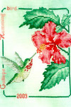 03-1626 Calliope Hummingbird 2003 by Crossed Wing Collection