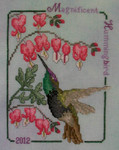 13-1050 Magnificent Hummingbird 2012 by Crossed Wing Collection