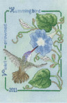 11-1627 Violet Crowned Hummingbird 2011 by Crossed Wing Collection