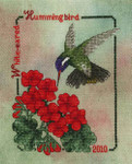 10-2082 White-Eared Hummingbird (2010) 70 x 89 by Crossed Wing Collection