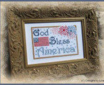 13-1847 God Bless America 84 x 56  Designs by Lisa