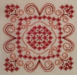 Fancy This 64w x 92h Pattern Only Freda's Fancy Stitching