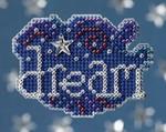 MH188105 Mill Hill Seasonal Ornament / Pin Kit Dream (2008)