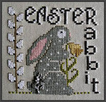 15-1736 Easter Rabbit (w/chm) by Hinzeit 52w x 51h