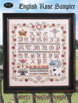 15-1138 English Rose Sampler 160 x 196 Jeannette Douglas Designs