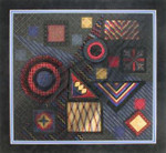 BLACK MAGIC DebBee's Designs Counted Canvas Pattern