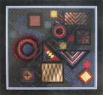 BLACK MAGIC DebBee's Designs Counted Canvas Pattern