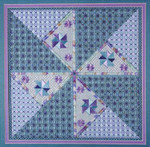 DIAMOND DELIGHT II DebBee's Designs Counted Canvas Pattern