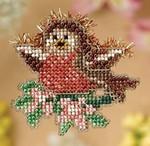MH188103 Mill Hill Seasonal Ornament / Pin Kit Rockin' Robin (2008)
