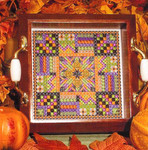 TRICKY TREATS (CC) 108 x 108 DebBee's Designs Counted Canvas Pattern