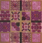 A BUMP IN THE RHODES (CC) 160 x 160 - 18ct canvas DebBee's Designs Counted Canvas Pattern