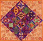 DIAMOND DELIGHT 9 (CC) 200 x 200 DebBee's Designs Counted Canvas Pattern