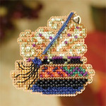 MH187204 Mill Hill Seasonal Ornament / Pin Kit Wanda's Love Potion (2007)