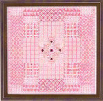 GLITZ & GLAMOUR KUNZITE (CC) 104 x 104 DebBee's Designs Counted Canvas Pattern