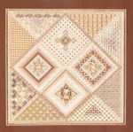 DIAMOND DELIGHT VI (CC) 200 x 200 DebBee's Designs Counted Canvas Pattern