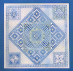 DIAMOND DELIGHT 10 (CC) 200 x 200 DebBee's Designs Counted Canvas Pattern