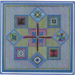 TAPESTRY TREASURES (CC) 252 x 252 DebBee's Designs Counted Canvas Pattern