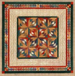 FALLING LEAVES Laura J Perin Designs Counted Canvas Patternn
