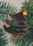 H79 Mill Hill Seasonal Ornament Kit Tipsy Tree