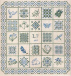 NATURE SAMPLER  Laura J Perin Designs Counted CanvasPattern Only