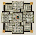CELTIC CROSS #2 Laura J Perin Designs Counted Canvas Patternn