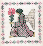 GARDEN ANGEL Laura J Perin Designs Counted Canvas Pattern Only