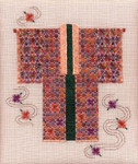 CHRYSANTHEMUM KIMONO  Laura J Perin Designs Counted Canvas Patternn