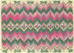 BARGELLO & ROSES (CC) 288w x 166h - 18ct canvas Laura J Perin Designs Counted Canvas Pattern