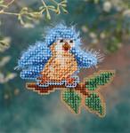 MH186102 Mill Hill Seasonal Ornament / Pin Kit Bye Bye Birdie (2006)