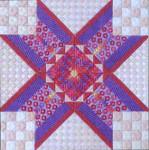 PEACH MELBA Needle Delights Originals Counted Canvas Pattern