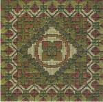 COLOR DELIGHTS - CAMOUFLAGE (CC) 72 x 72 - 18ct canvas Needle Delights Originals Counted Canvas Pattern