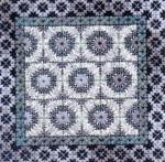 COLOR DELIGHTS - SILVER (CC) 72 x 72 - 18ct canvas Needle Delights Originals Counted Canvas Pattern