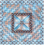 DOUBLE DELIGHTS - SURF & SAND (CC) canvas Needle Delights Originals Counted Canvas Pattern