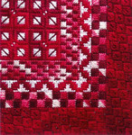 COLOR DELIGHTS - PEPPERMINT (CC) 72 x 72 - 18ct canvas Needle Delights Originals Counted Canvas Pattern