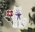 MH187103 Mill Hill Seasonal Ornament / Pin Kit Tropical Kitty (2007)