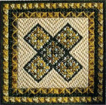 COLOR DELIGHTS - OLIVE (CC) 72 x 72 - 18ct canvas Needle Delights Originals Counted Canvas Pattern