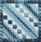 COLOR DELIGHTS - SKY (CC) 72 x 72 - 18ct canvas Needle Delights Originals Counted Canvas Pattern