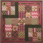ROSETO (CC) 144 x 144 - 18ct canvas Needle Delights Originals Counted Canvas Pattern