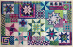 STARSTRUCK (CC) 180 x 228 - 18ct canvas Needle Delights Originals Counted Canvas Pattern
