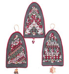 MERRY BELLS Threedles Counted Canvas Pattern