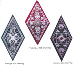 CHRISTMAS 2015 (CC) Each diamond 48w x 92h Threedles Counted Canvas Pattern
