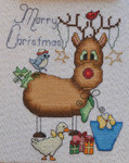 MarNic Designs Rebecca The Reindeer-Merry Christmas 66w x 84h
