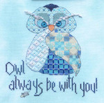 MarNic Designs Owl Always Be With You 88w x 95h