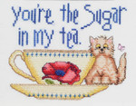 15-1877 You're The Sugar In My Tea 77w x 64h MarNic Designs