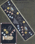 "BLOSSOMS OF SPRING (WAP) Table Runner 14"" x 43"", Penny Rug 15"" x 19"" All Through The Night"