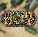 MH187302 Mill Hill Seasonal Ornament / Pin Kit Jeweled Joy (2007)